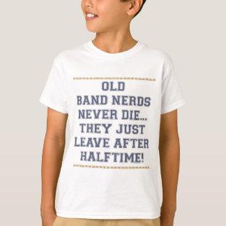 T-shirt Vieux ballots de bande