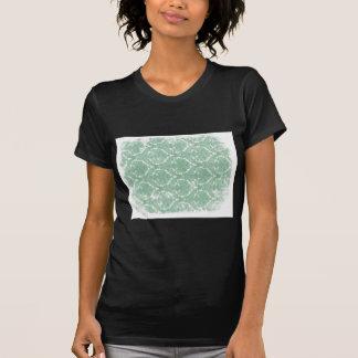 T-shirt Vieux motif de papier peint