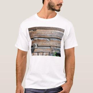 T-shirt Vieux mur 2 de rondin
