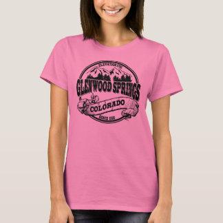 T-shirt Vieux noir de cercle de Glenwood Springs