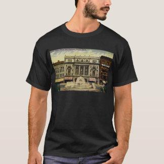 T-shirt Vieux théatre de l'opéra de Detroit et fontaine,