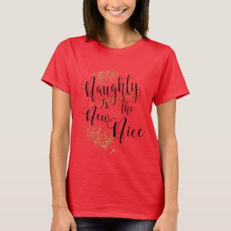 T-shirt Vilain est le nouveau gentil, la poussière de