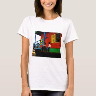 T-shirt Village de flottement du Cambodge
