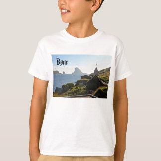 T-shirt Village féroïen de Bøur : Chemise