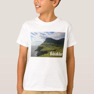 T-shirt Village féroïen de Gásadalur : Chemise
