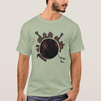 T-shirt Village sur la version 1 de fil