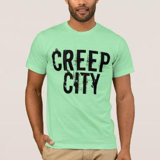 T-shirt Ville de fluage