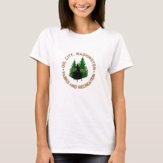 T-shirt Ville d'huile, parcs de Washington et chemise de
