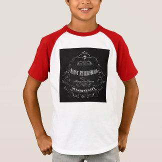 T-shirt Ville-Saint Pétersbourg-Toujours de soleil de