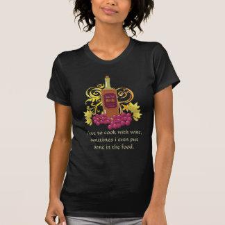 T-shirt Vin et raisins