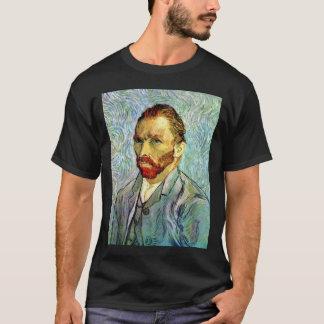 T-shirt Vincent van Gogh - beaux-arts verts d'autoportrait