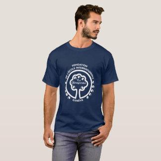 T-shirt vintage de Chât de La (avant de logo)