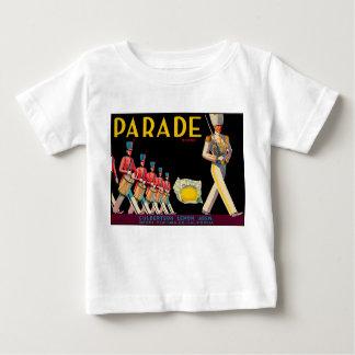 T-shirt vintage de conception de citron