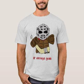 T-shirt vintage de gardien de but d'hockey de Lil