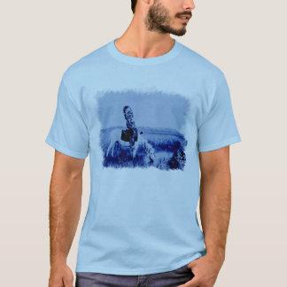 T-shirt vintage de grunge de guerrier de Cheyenne