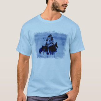 T-shirt vintage de guerriers de Cheyenne