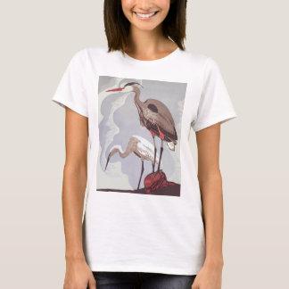 T-shirt vintage de héron de WPA