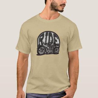 T-shirt vintage de moto de tour