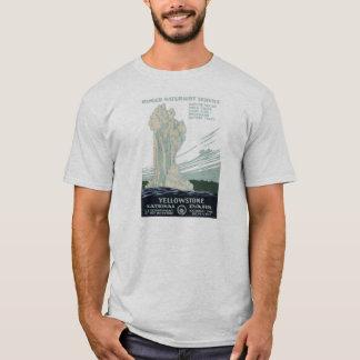T-shirt vintage de parc de WPA Yellowstone