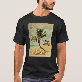 T-shirt vintage de voyage des Îles Vierges