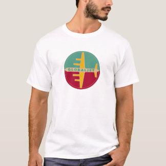 """T-shirt vintage """"GlobalJet """" d'âge de jet"""