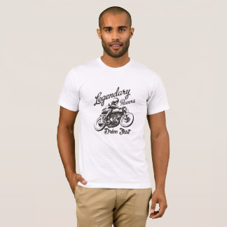 T-shirt Vintage Moto