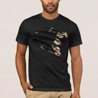 T-shirt violent de griffe