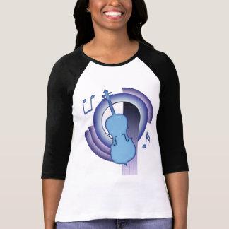 T-shirt Violoncelle Deco2