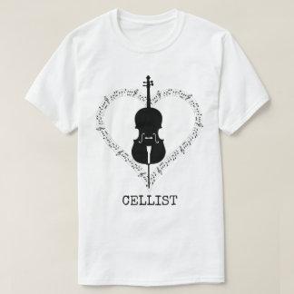 T-shirt Violoncelliste
