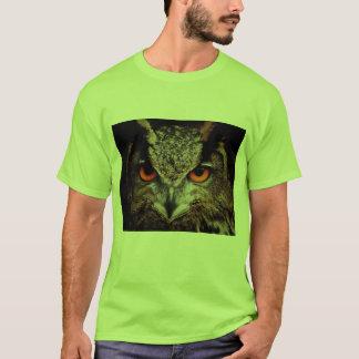 T-shirt Visage de hibou