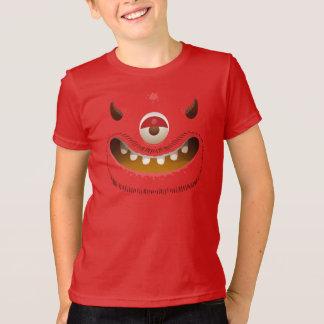 T-shirt Visage de monstre