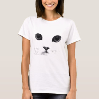 T-shirt Visage doux de chat