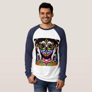 T-shirt Visage psychédélique