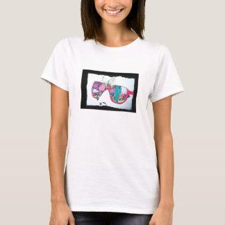 T-shirt vision de désert d'Andreas