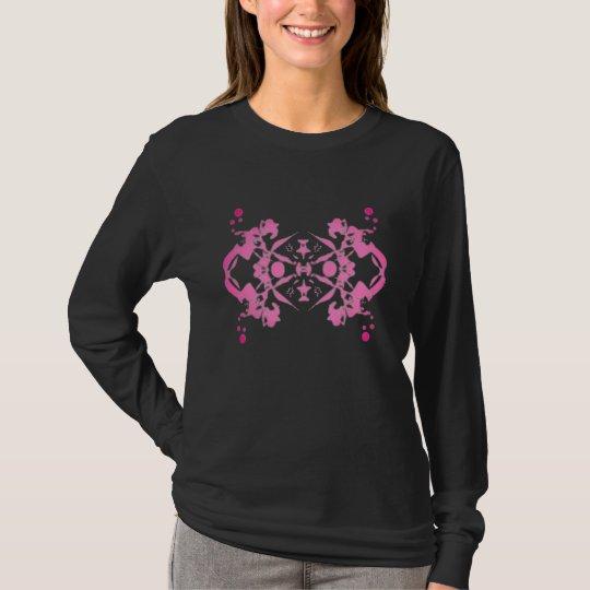 T-Shirt Vision Psychédélique Rose