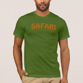 T-shirt Visionnement et aventures de faune de safari
