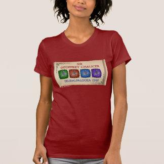 """T-shirt Visite de Chaucer """"Feudalpalooza"""" (avant foncé de"""