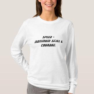 T-shirt Vitesse - compétence et courage maximum