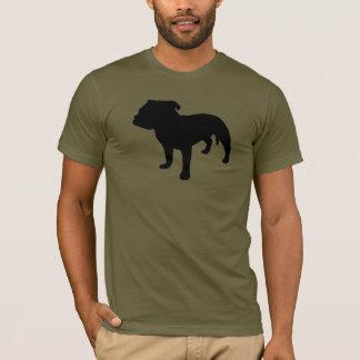 T-shirt Vitesse de bull-terrier du Staffordshire