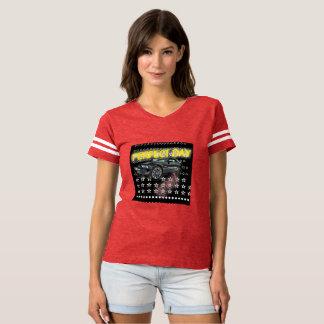 T-shirt Vitesse de COULEUR de TIGRE de voiture