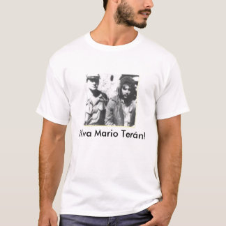 T-shirt Vivats Mario Teran !