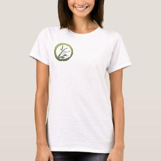 T-shirt Vivent plus naturellement - le logo de Midori