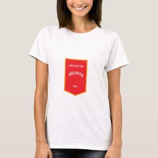 T-shirt Vivez comme vous croient - l'insigne