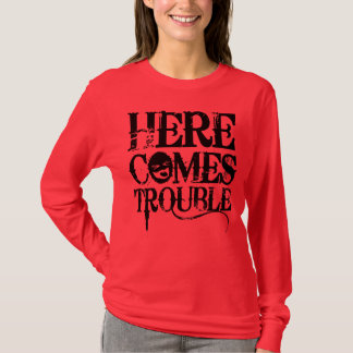 T-shirt Voici venir la chemise de problème