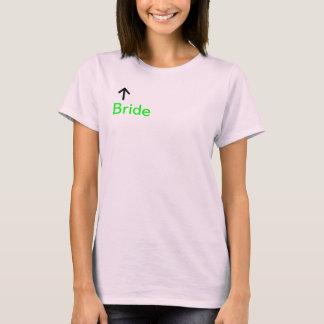 T-shirt Voici venir la jeune mariée