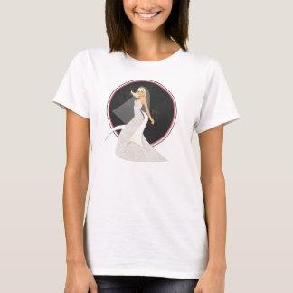 T-shirt Voici venir la jeune mariée, bien !