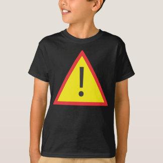 T-shirt Voici venir le problème !