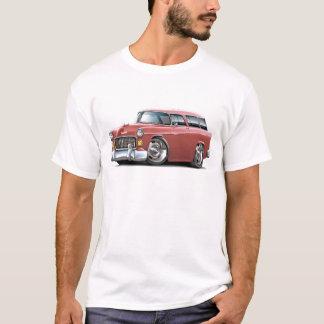 T-shirt Voiture 1955 de saumon de nomade de Chevy