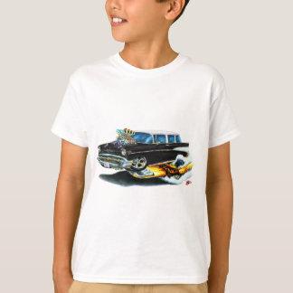 T-shirt Voiture 1957 de noir de nomade de Chevy