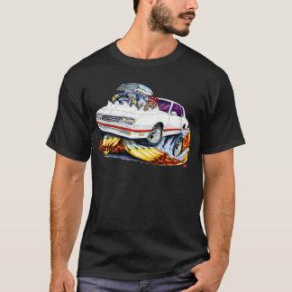 T-shirt Voiture 1986-88 Blanc-Rouge de Monte Carlo